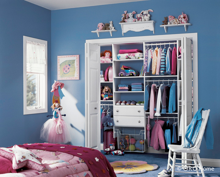 Kids Reach In Closet Organizer For A Columbus Or Cleveland Ohio Home