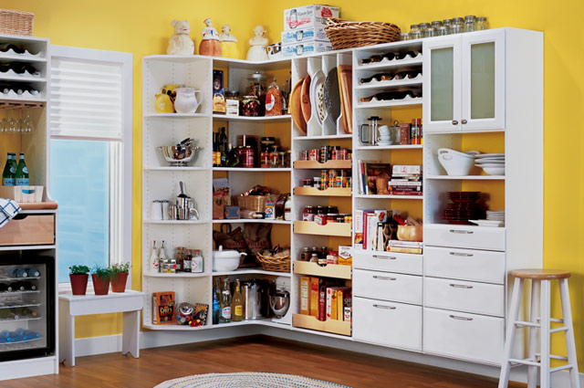 Pantry Shelving Storage Laundry System