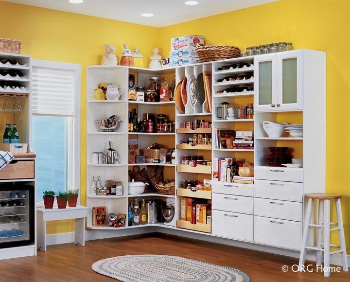 Columbus Pantry Organization Cabinets Amp Shelving