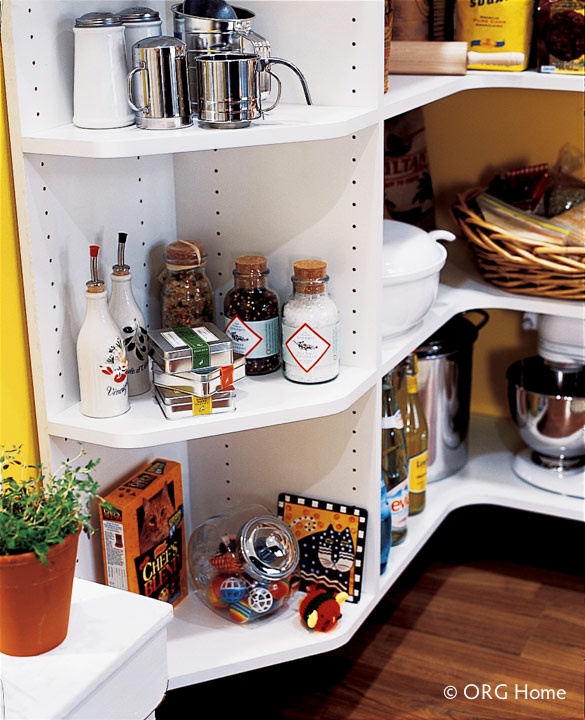 Corner Pantry Shelves: Columbus Pantry Organization, Cabinets & Shelving