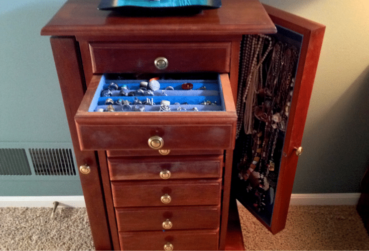 Custom made jewelry box by my father in law Luigi
