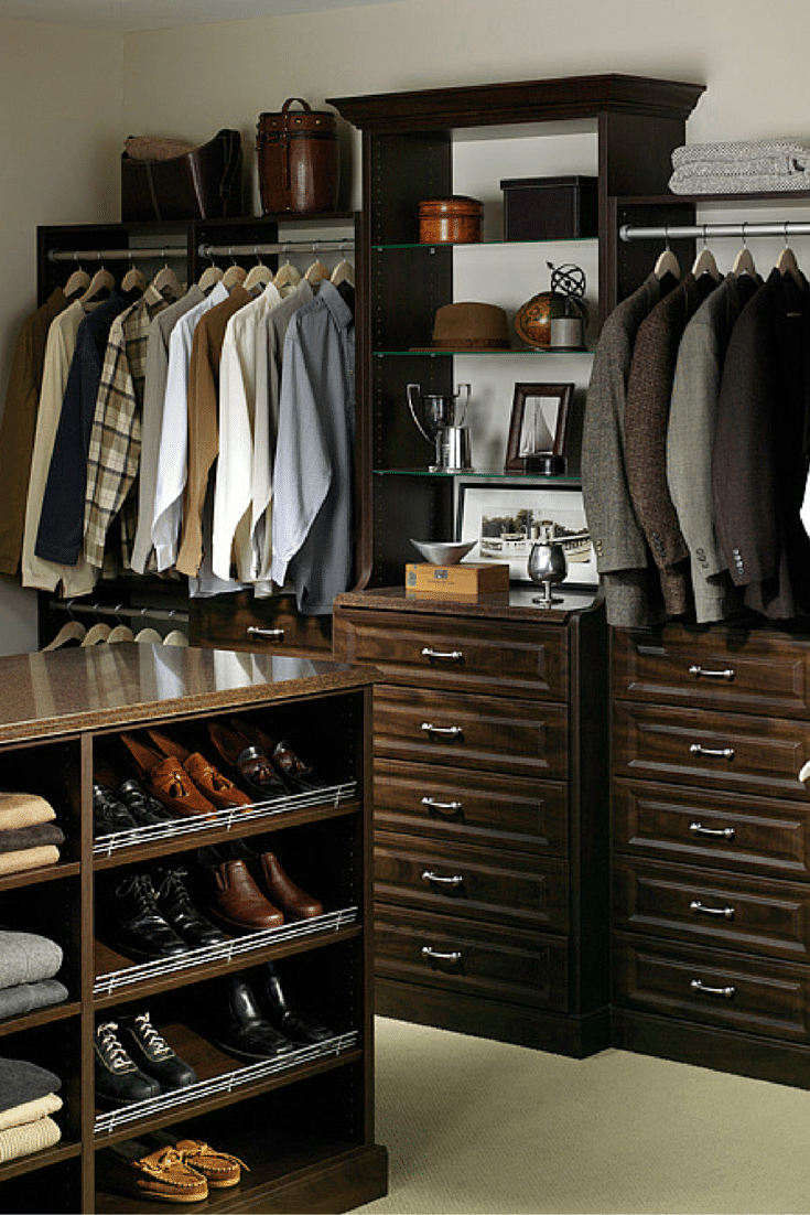 7 factors to choose laminate closet organizer or wire shelving for Adding a walk in closet