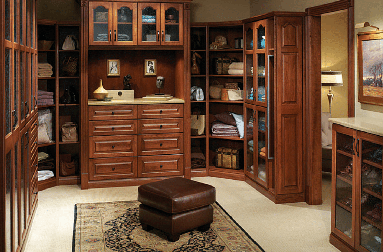 Columbus closet organizer system