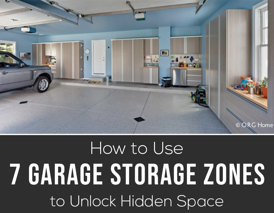 Opening image How to use 7 garage storage zones | Innovate Home Org | #GarageStorage #Storagetips #Garage #homeOrganization