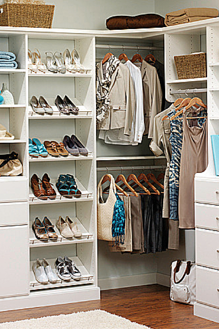 Charmant Shoe Shelf Storage For A Better Walk In Closet Design