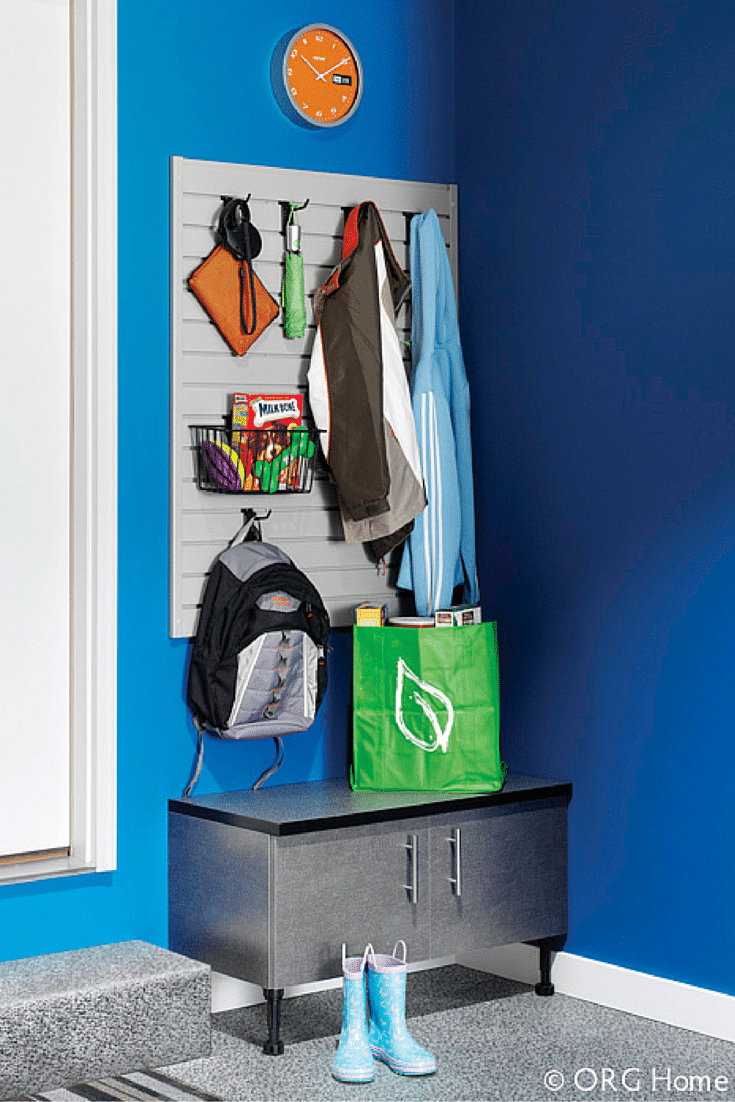 garage entryway storage for boots and bookbags innovate home org columbus and cleveland