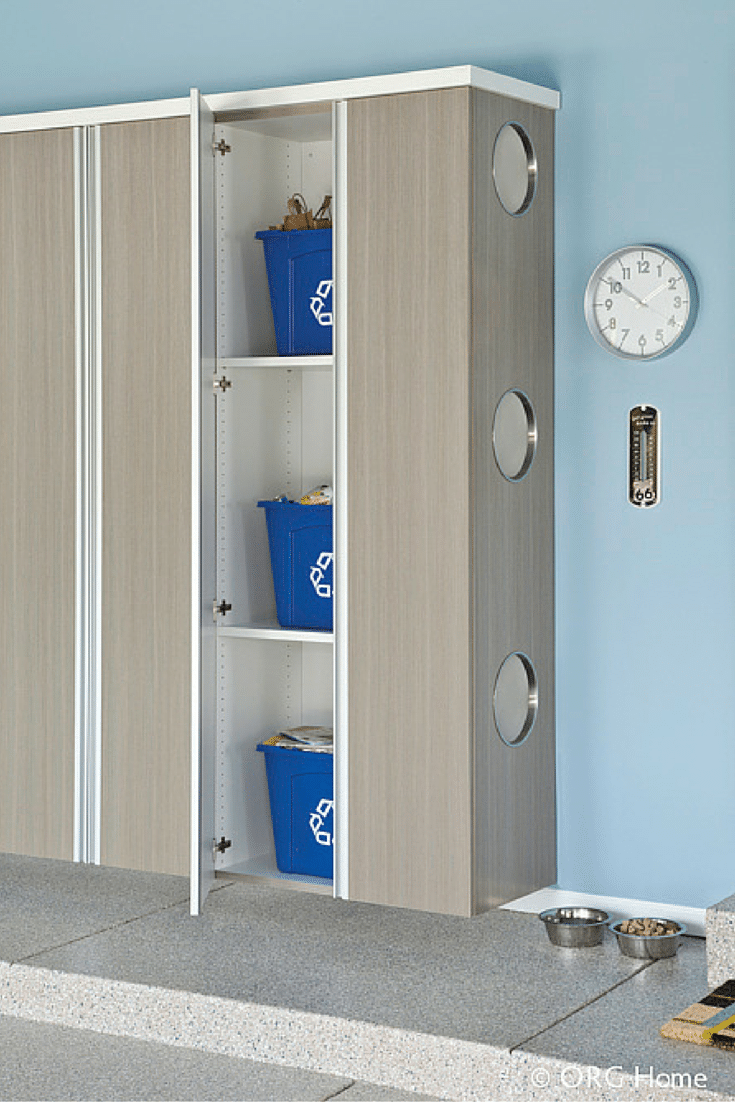 Garage storage cabinetry for recycled goods innovate home org columbus and cleveland
