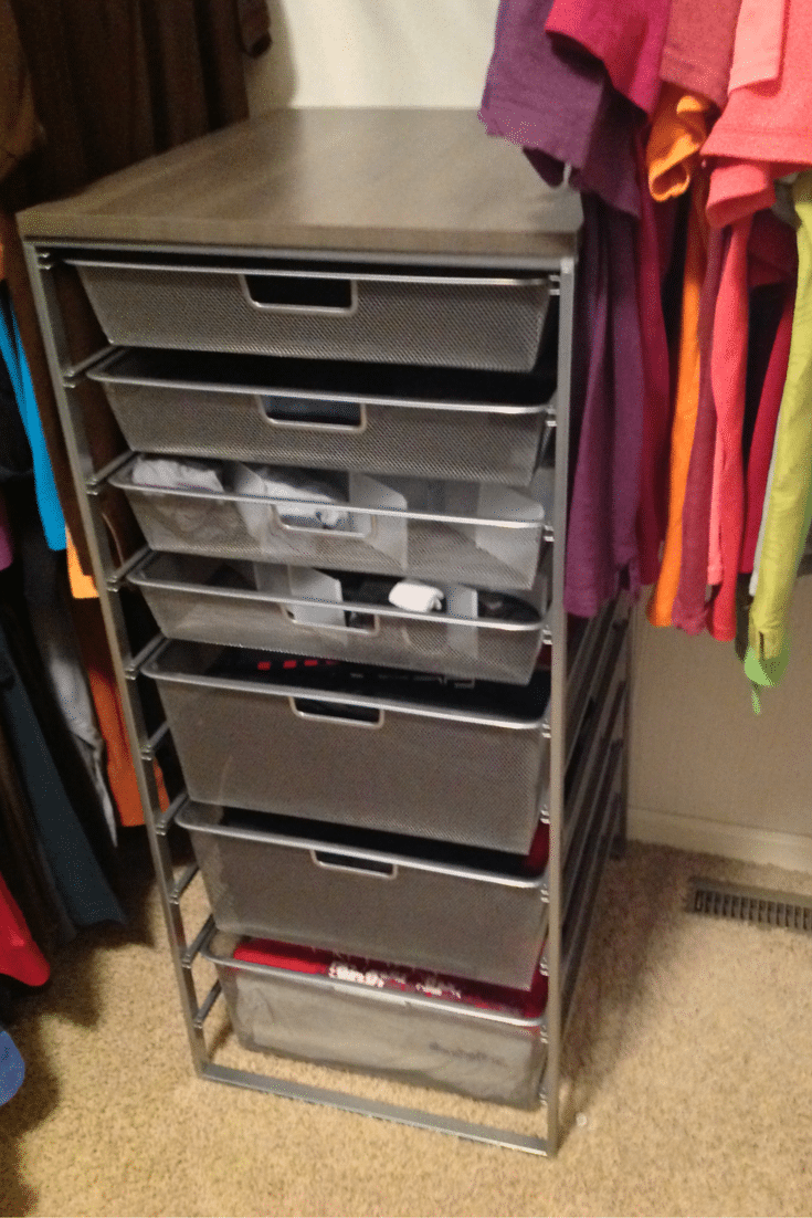 Portable Storage Closet Units Elfa From The Container Store