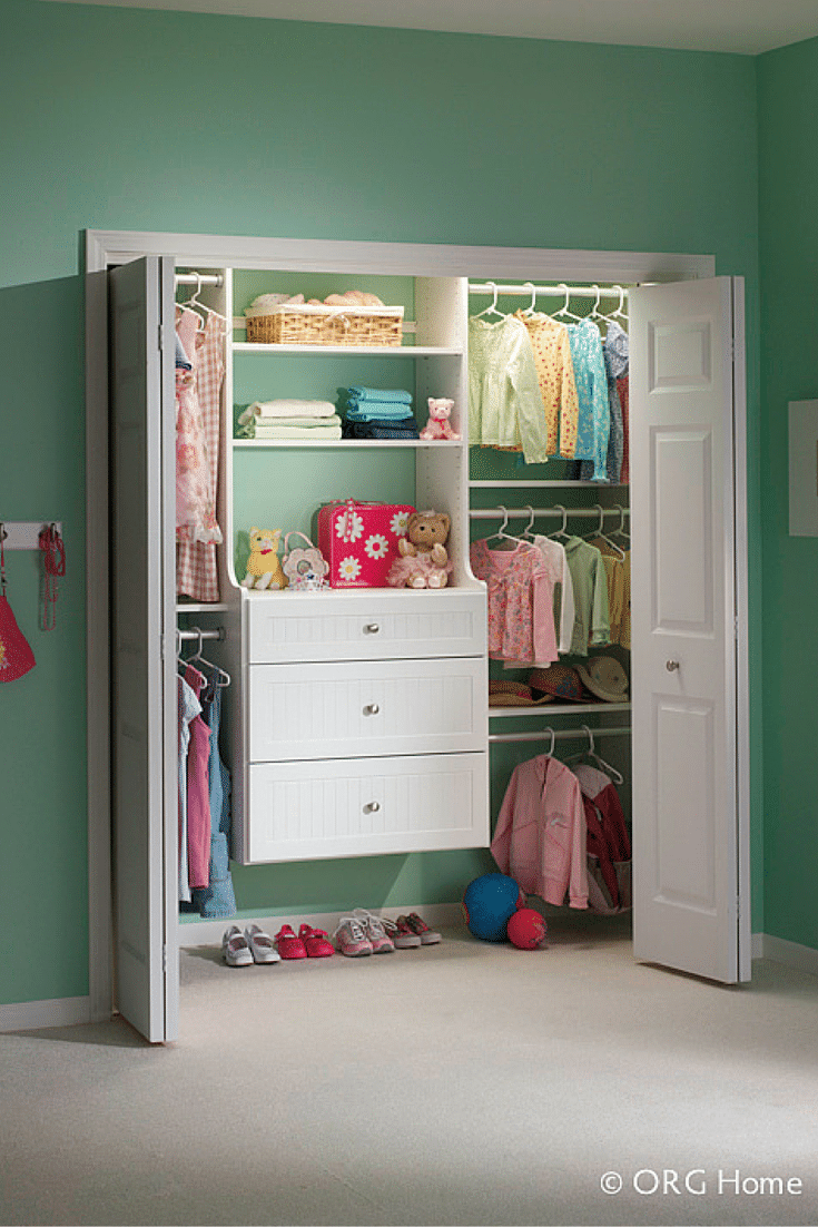 Lower Priced Reach In Closet With A Wall Mounted Closet Organizer In  Westerville Ohio