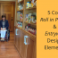 5 Cool Roll in Pantry and Entryway Design Elements