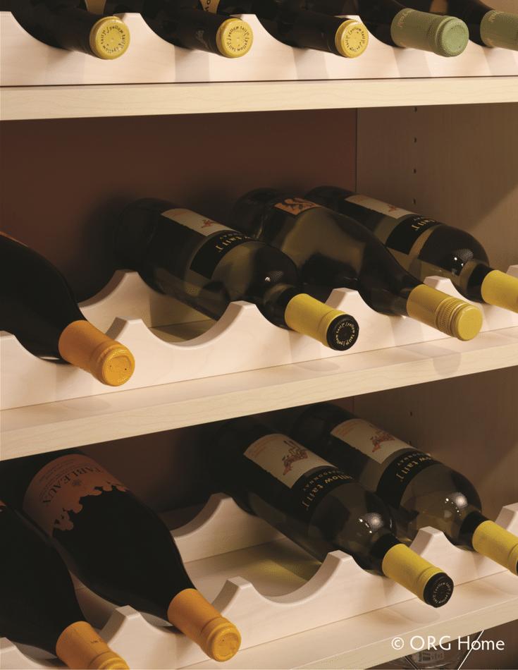 Wine bar in a multi-purpose walk in pantry columbus