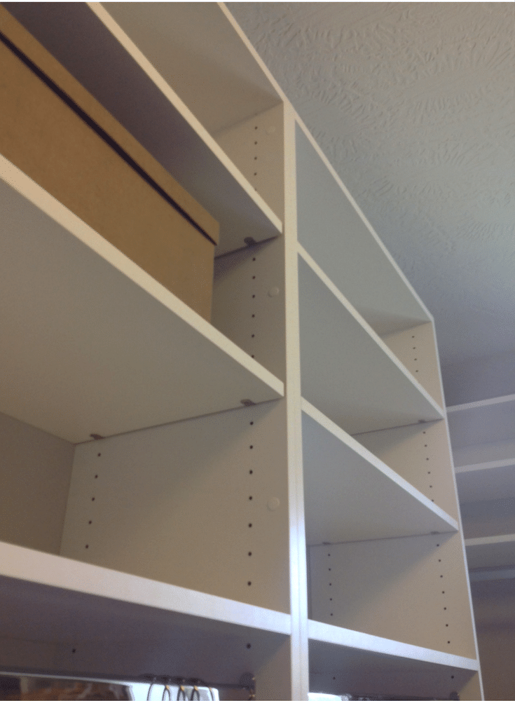 More shelving in a Columbus closet design @InnovateHomeOrg
