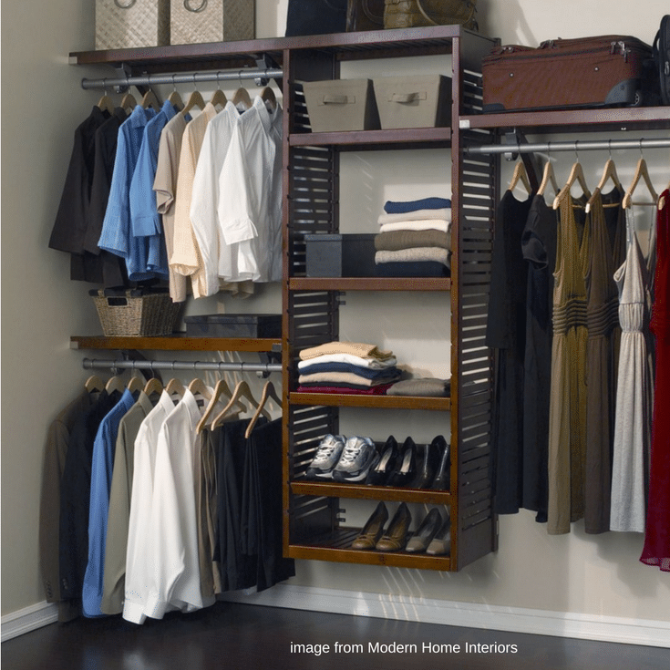 How To Compare A Laminate Vs. Wood Closet System