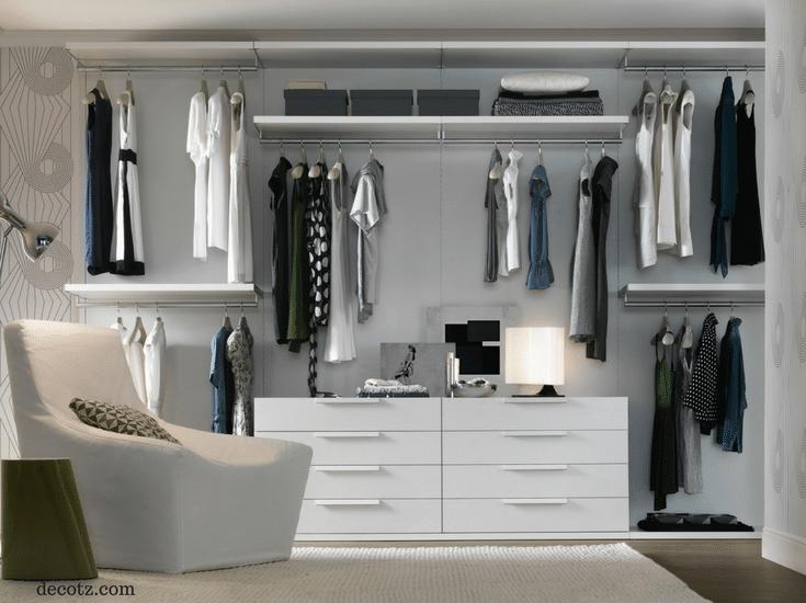 How To Design A Closet columbus tiny closet organizers - designing 2 closets to work as 1