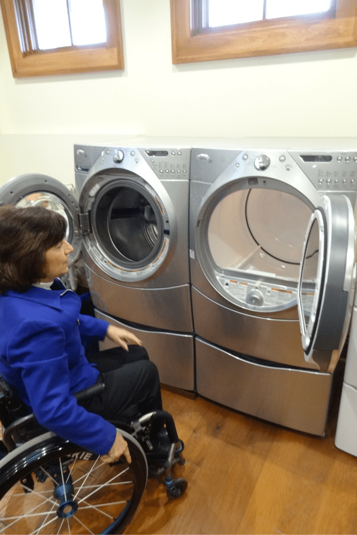 5 essential tips for a universal design laundry room | Innovate Home Org Columbus Ohio