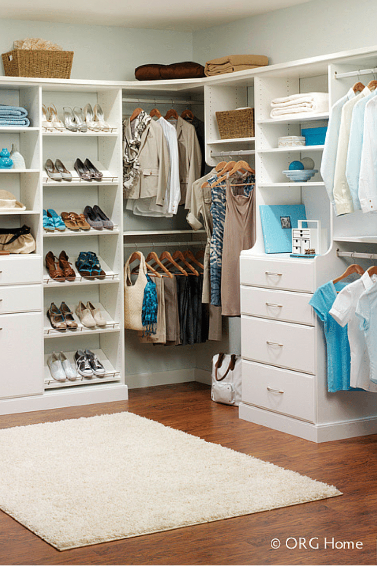 5 tips for a super useful and fun walk in closet | Innovate Home Org Columbus Ohio