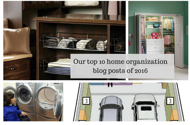 Our top 10 home organization blog posts of 2016 | Innovate Home Org Columbus Ohio