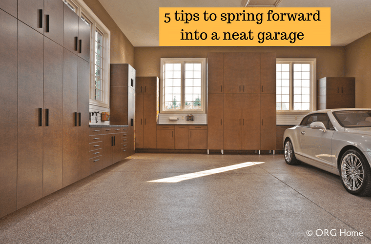 5 tips to spring forward into a neat garage | Innovate Building Solutions
