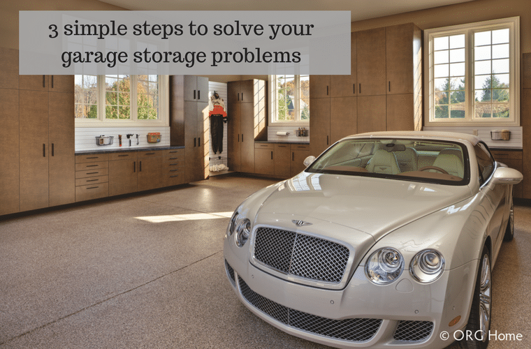 3 simple steps to solve your garage storage problems | Innovate Home Org Columbus Ohio
