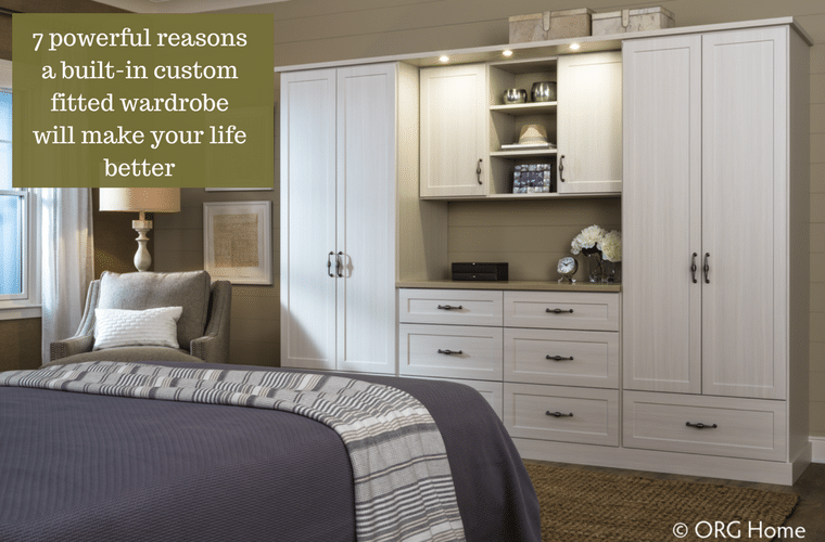 7 Powerful Reasons A Custom Built In Fitted Wardrobe Will Make Life Better  | Innovate Home