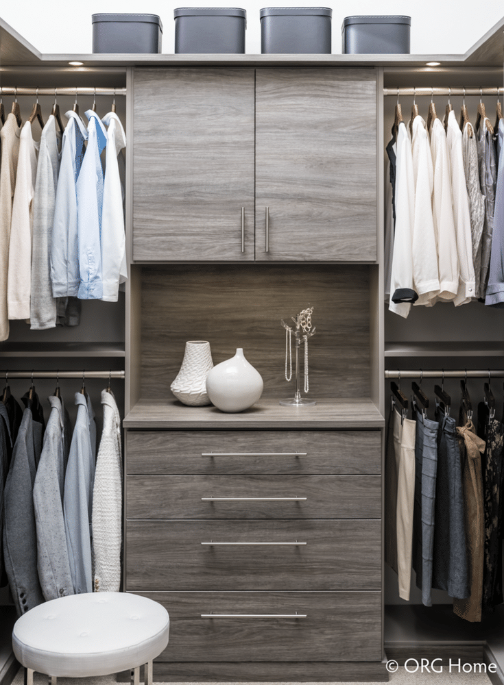 Double Hanging Closet Sections Double The Hanging Space In The Same Area |  Innovate Home Org