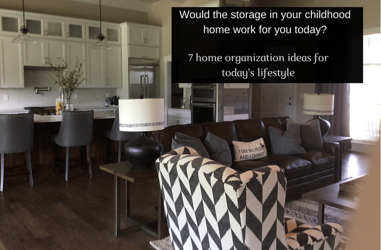 Would the storage in your childhood home work for you today? 7 home organization tips for today's columbus lifestyle - Innovate Home Org