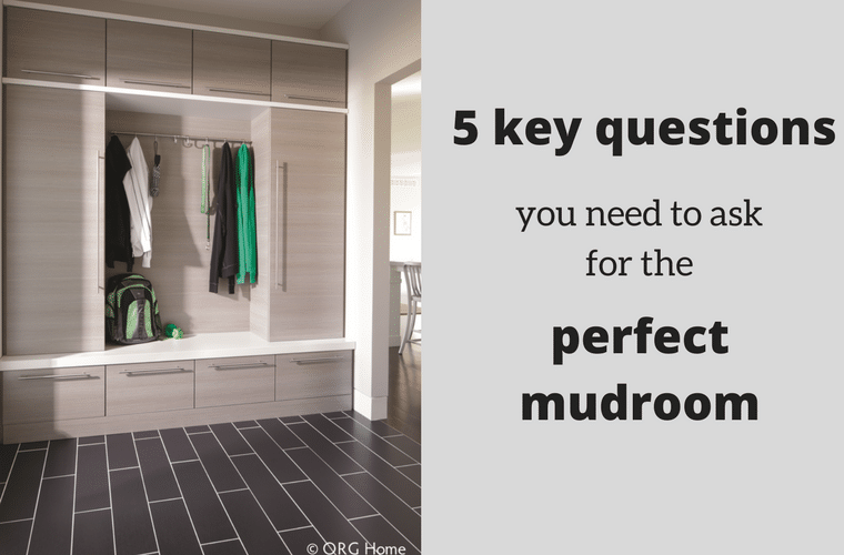 5 key questions to ask for a perfect mudroom organization project | Innovate Home Org Columbus Ohio