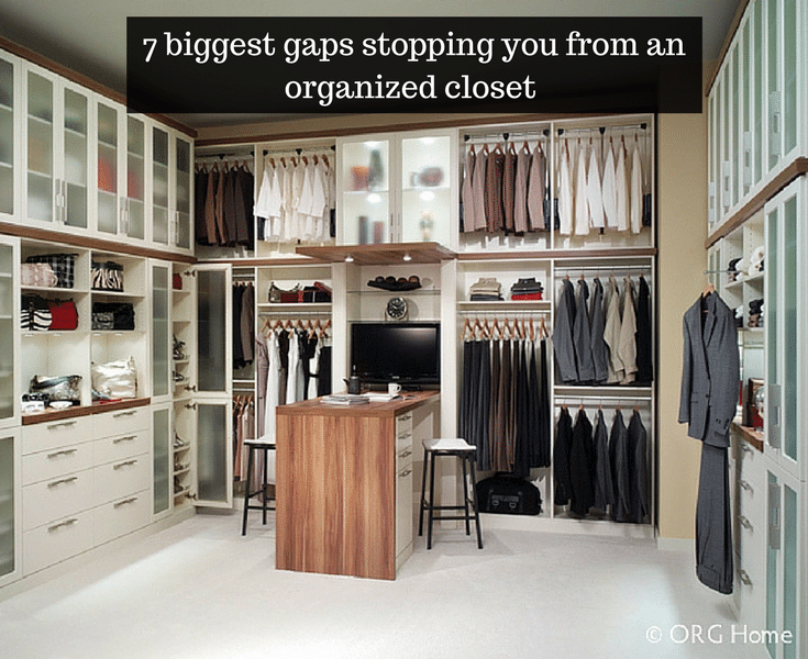 7 biggest gaps preventing you from an organized columbus closet - Innovate Home Org