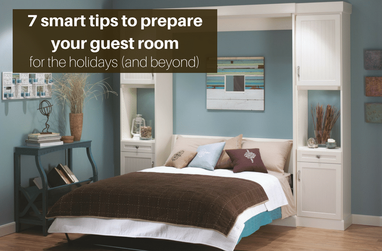 7 smart steps to prepare a guest room holidays and beyond | Innovate Home Org Columbus Ohio