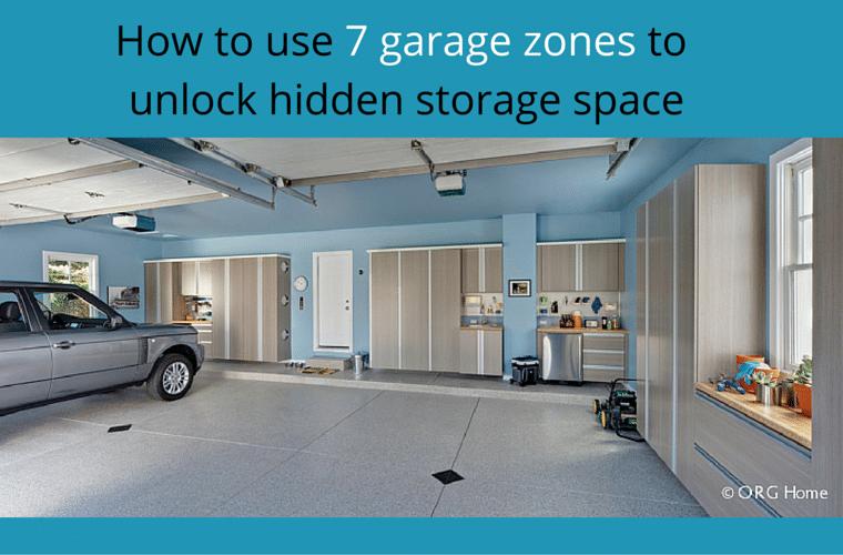 7 Garage Storage Zones to Unlock Hidden Space Innovate Home Org Columbus Ohio #Garage #Cabinetry #GarageCabinetry #GarageOrganizer