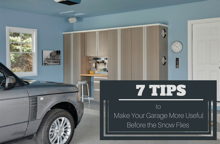 7 Tips to Make Your Garage More Useful Before the Snow Flies (and Be Able To Park Your Car Inside) | Innovate Home Org | Columbus