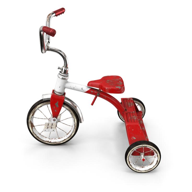 Old Tricycle | Innovate Home Org #Columbus #Bikes #BikeStorage #Tricycle