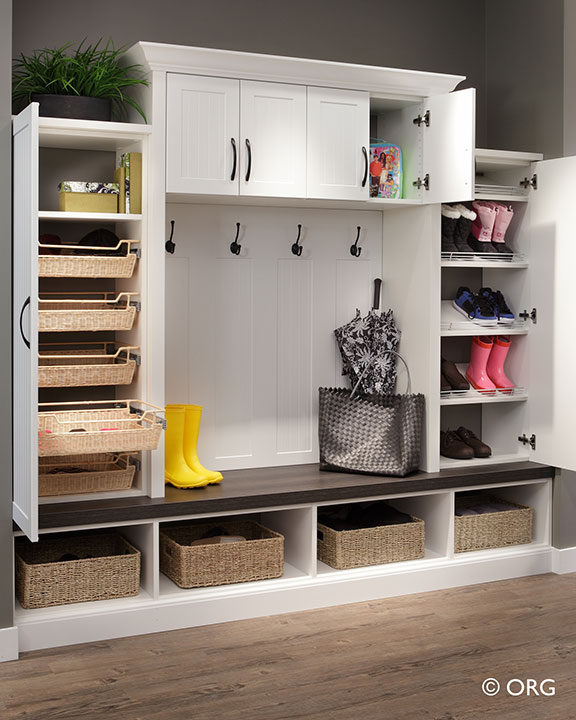 Mudroom Storage Systems : Columbus mudroom entryway storage systems innovate