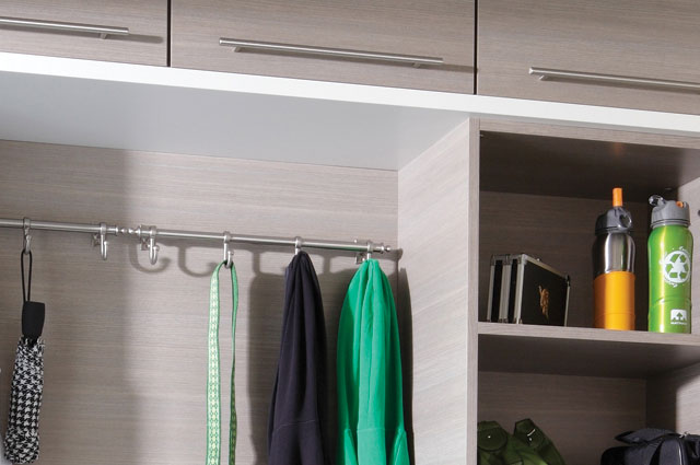 Custom Mudroom Cabinet Finishes