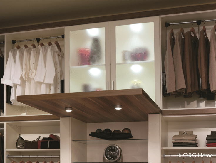 Closet Lighting | Innovate Home Org | #Columbus #LEDLighting #ClosetLighting