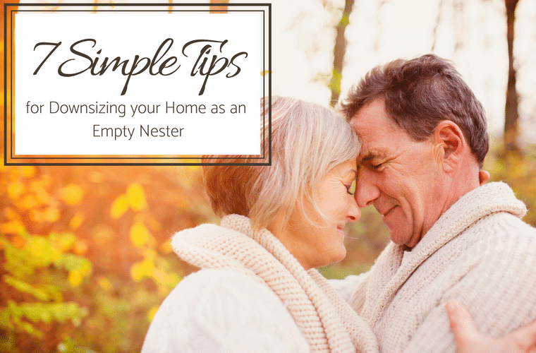 7 Simple Tips for Downsizing Your Home as an Empty Nester | Innovate Home Org | #EmptyNester #Downsizing #ColumbusDownsizing