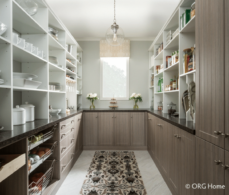 Pantry Shelving Storage | Innovate Home Org | #PantryShelving #DownSizing #DowntownLiving