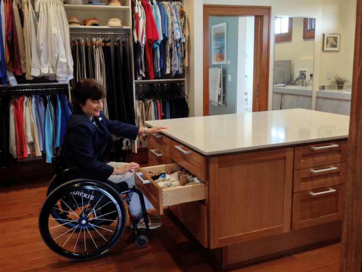 Universal Design for Your Storage | Innovate Home Org | #StorageSystem #ClosetStorage #UniversalStorage