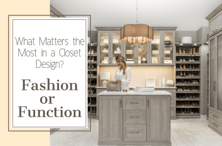 What Matters most in a Closet Design - Fashion or Function | Innovate Home Org | #ClosetDesign #WalkInCloset #DreamCloset