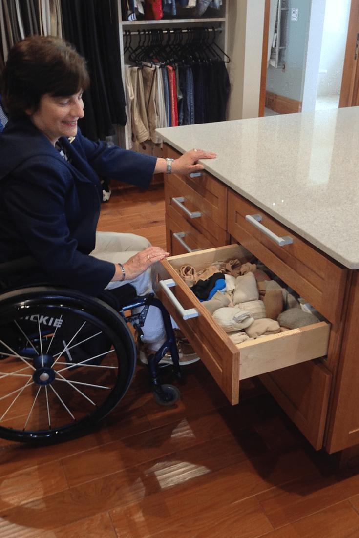 Wheelchair Accessible Closet Design Strategies Innovate