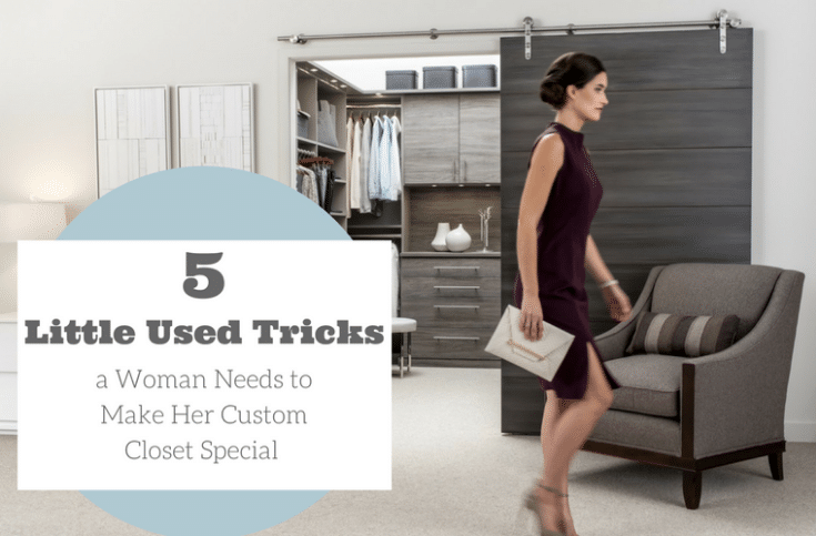 5 Little Used Tricks a Woman Needs to Make Her Custom Closet Special | Innovate Home Org | #WalkInCloset #ClosetOrganization #OrganizationTips #DesignerClosets