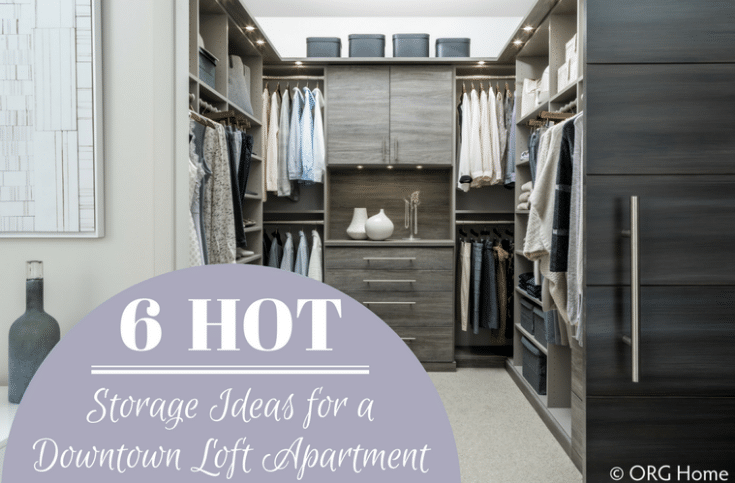 Hot Storage Ideas Home a Downtown Loft Apartment | Innovate Home Org | #LoftApartment #ApartmentStorage #ColumbusApartments #ColumbusStorage