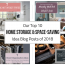 Our Top 10 Home Storage and Space-Saving Idea Blog Posts of 2018 – Innovate Home Org