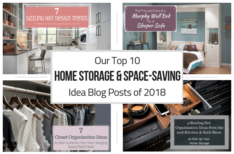 Top 10 home storage and space-saving idea blog posts of 2018 | Innovate Home Org | #StorageTips #OrganizationTips #TopOrganizationIdes #OrganizationIdeas