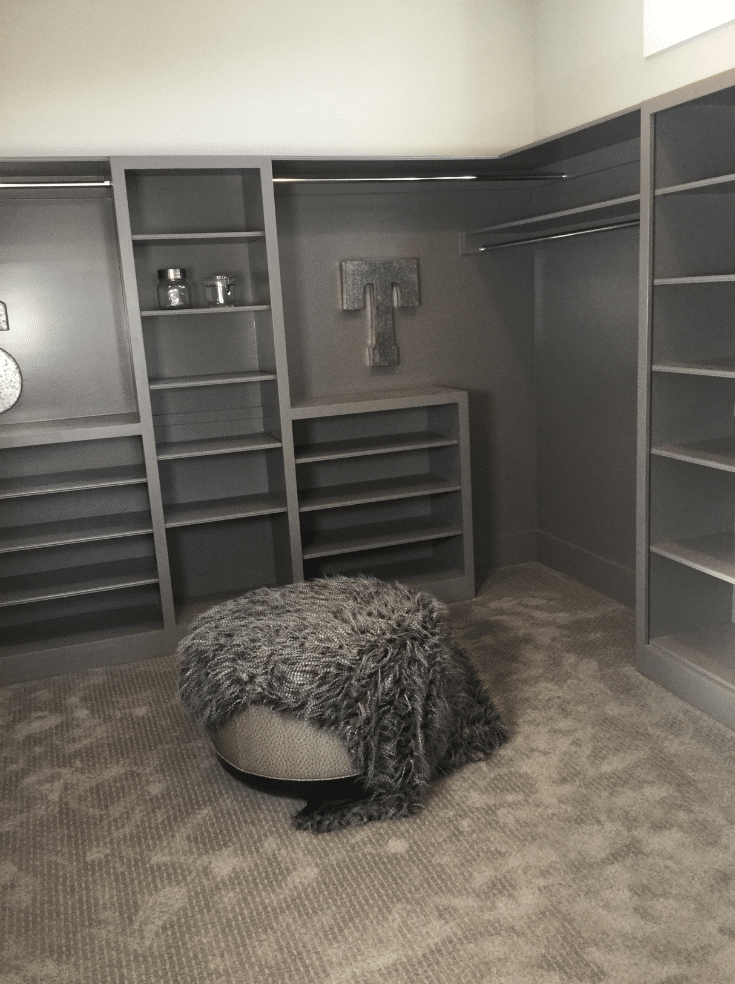 Dead Space in a Custom Closet | Innovate Home Org  | Columbus, Ohio | #DeadSpace #UnusedSpace #CustomClosetMistake