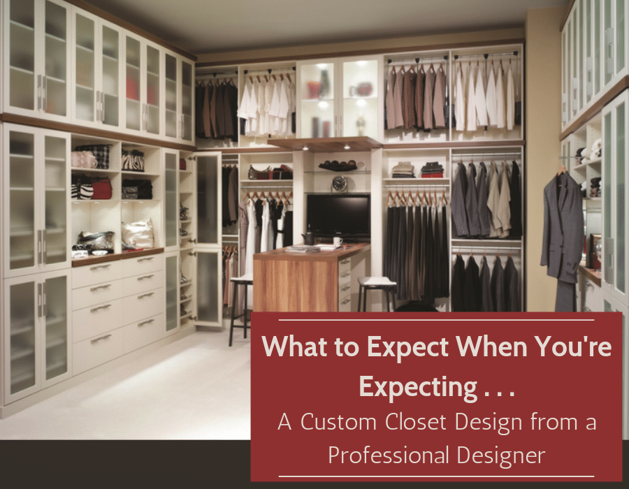 A custom closet design by a professional designer | Innovate Home Org | #CustomCloset #ClosetDesign #ProfessionalDesigner