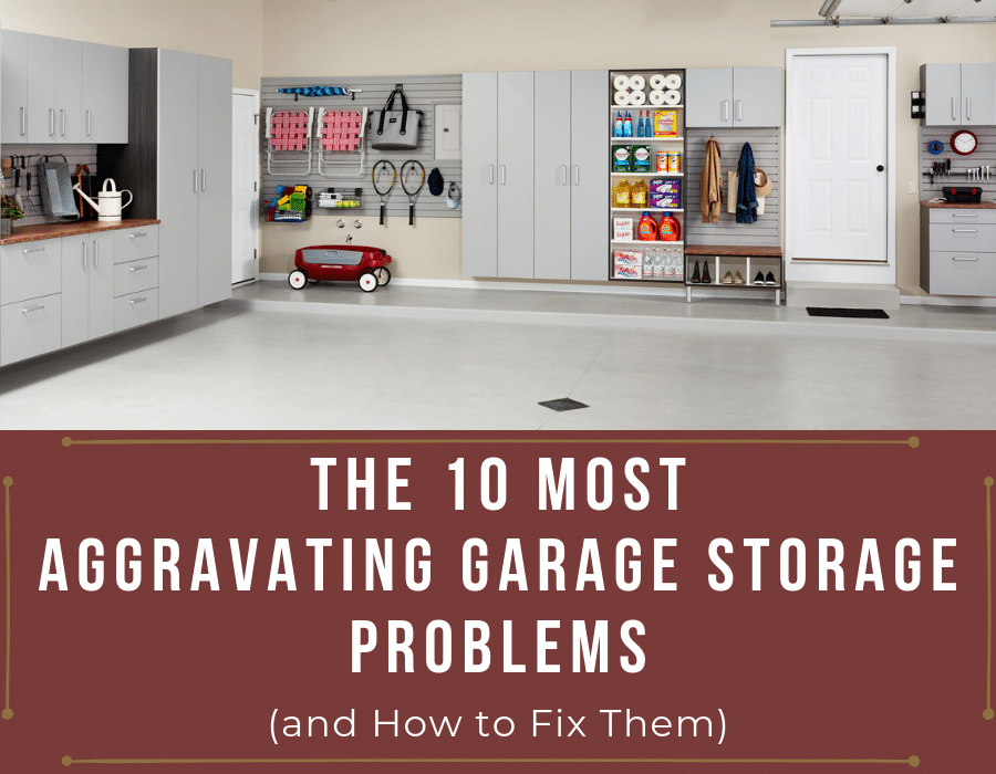 Most Aggravating Garage Storage Problems | Innovate Building Solutions | Innovate Home Org | #GarageStorage #StorageSolutions #StorageTips #MessyGarage