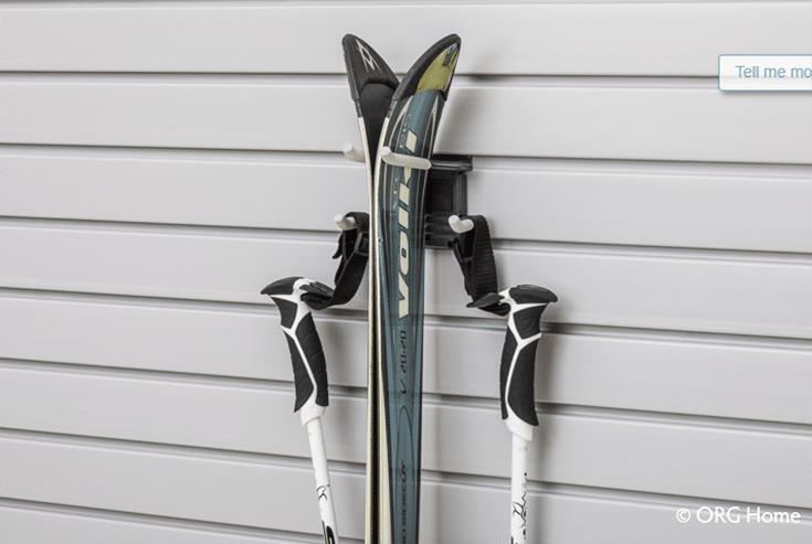 Garage storage ski poles stick storage Columbus ohio | Innovate Home Org | #Garagestorage #Skipoles #Storage #StoringSkipoles