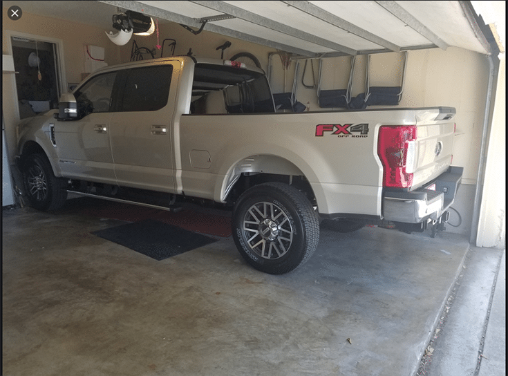 Part II hard to fit a big truck in a garage ideas credit AirForums.com | Innovate Home Org | #Garagestorage #ColumbusStorage #GarageinColumbus #ColumbusGarage