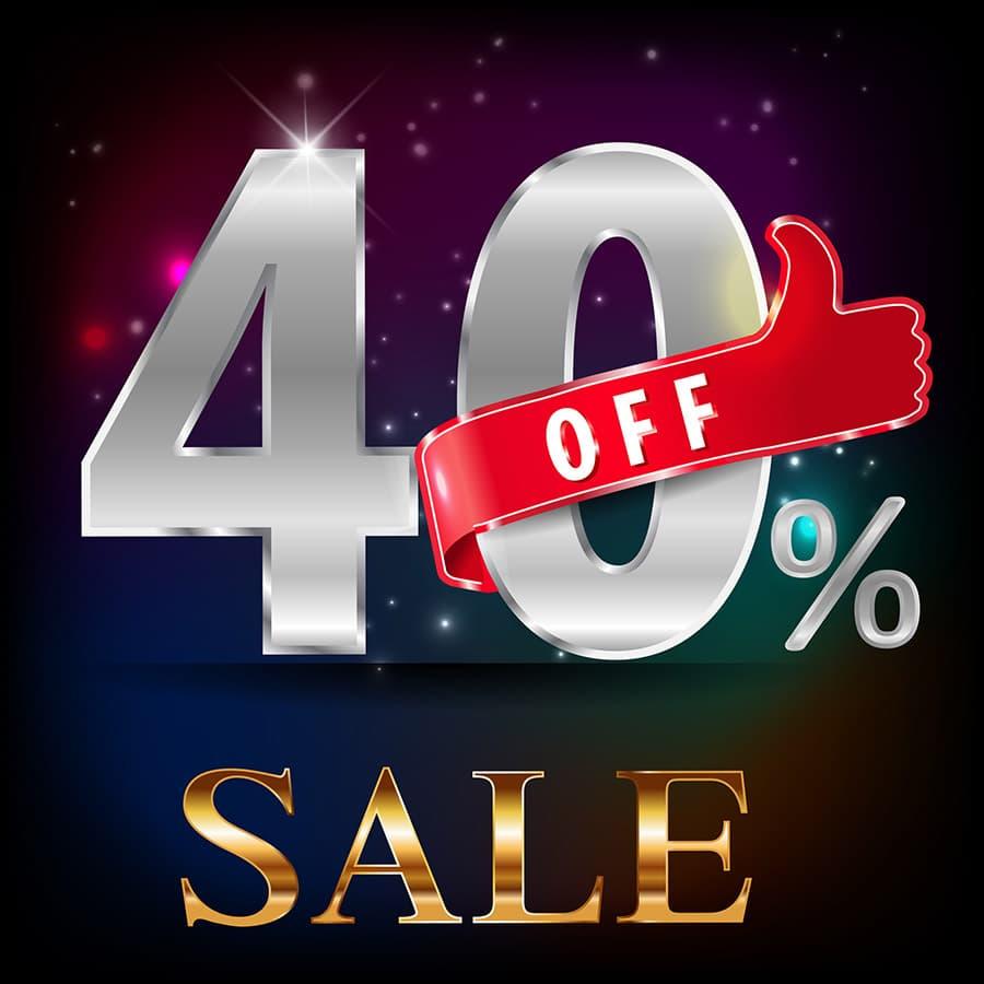 40 per cent off custom closet sale in Columbus Ohio | Innovate Home Org | #CustomCloset #ClosetSale #ClosetDeals